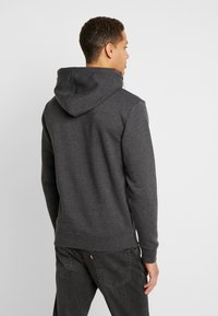 INDICODE JEANS - NEVILLY - Sweat à capuche - charcoal mix - 2