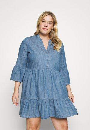 CARKIKKAMARAKESH LIFE TUNIC DRESS - Vapaa-ajan mekko - medium blue denim