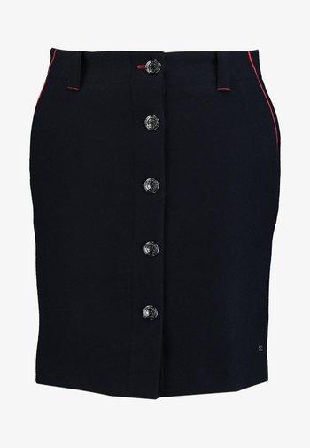 LUITGARD MINI SKIRT - A-line skirt - dark blue