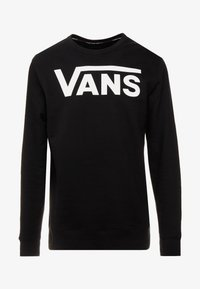 Vans - CLASSIC CREW - Sweatshirt - black/white - 3