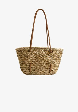 FLECHTKORB 14202580 - Shopping bag - brown