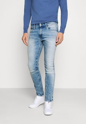 SCANTON SLIM - Slim fit jeans - corry light blue stretch