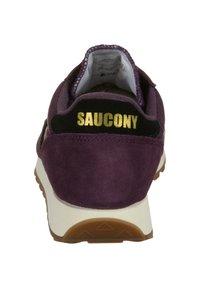 Saucony - JAZZ ORIGINAL VINTAGE - Trainers - blkberry/black - 3