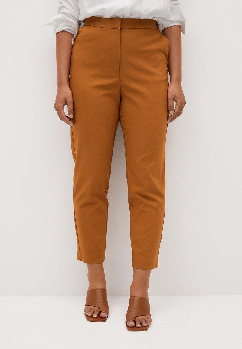 Violeta by Mango - CORE - Trousers - karamel