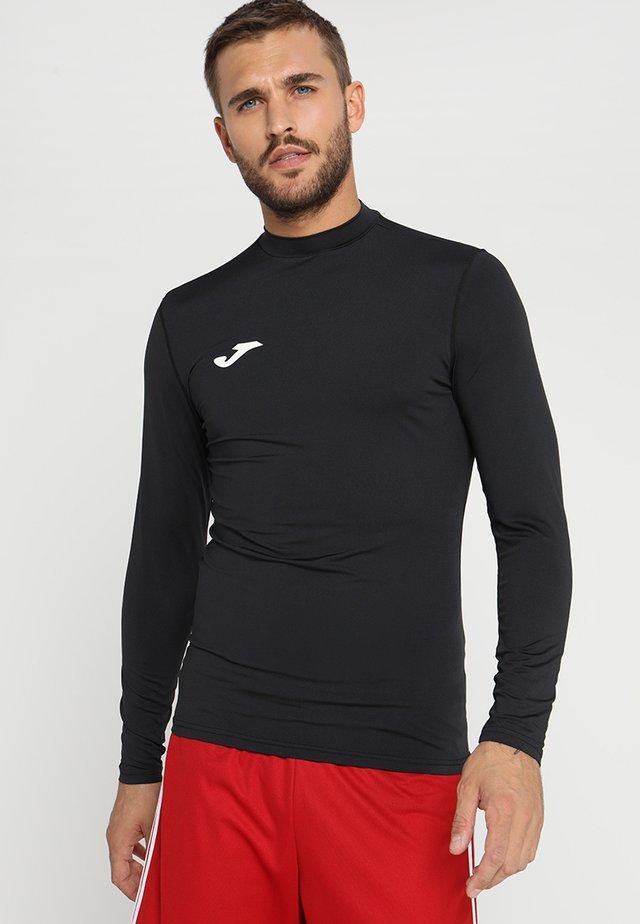 BRAMA - Maglietta a manica lunga - black