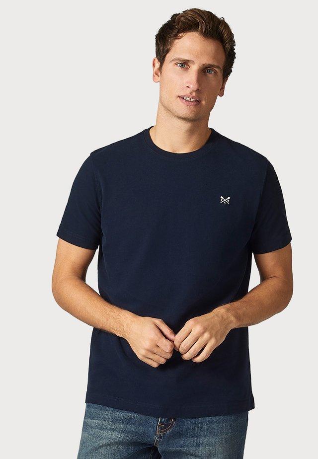 CREW CLOTHING MALE CREW CLASSIC - T-shirt basic - dark blue