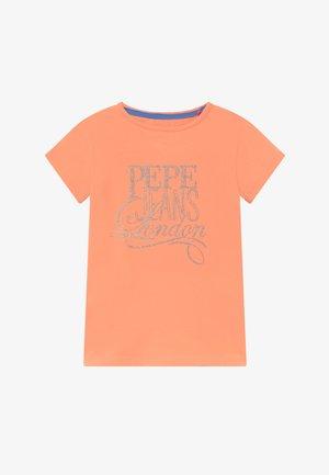AQUARIA - Print T-shirt - fresh orange