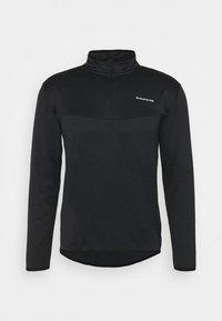 Endurance - LEDGER WAFFLE MIDLAYER - Sweatshirt - black - 0