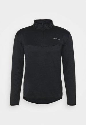 LEDGER WAFFLE MIDLAYER - Sweater - black