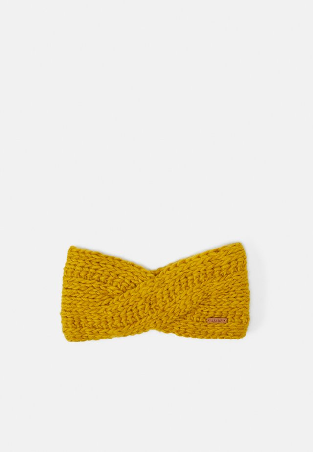 JASMIN HEADBAND - Oorwarmers - yellow