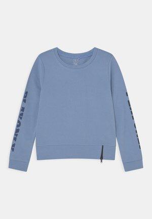 JELLY O-NECK ZIP GIRLS - Sweatshirt - forever blue