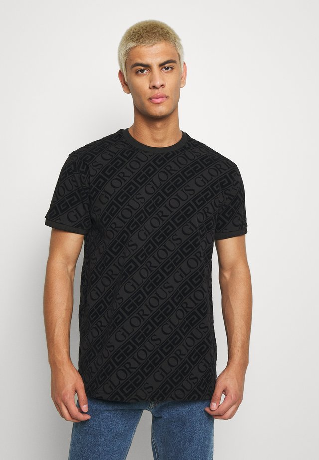 BANTU TEE - Camiseta estampada - black