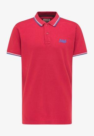 Poloshirt - fire red