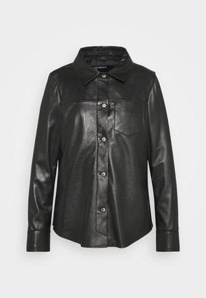 ANAE - Leather jacket - black