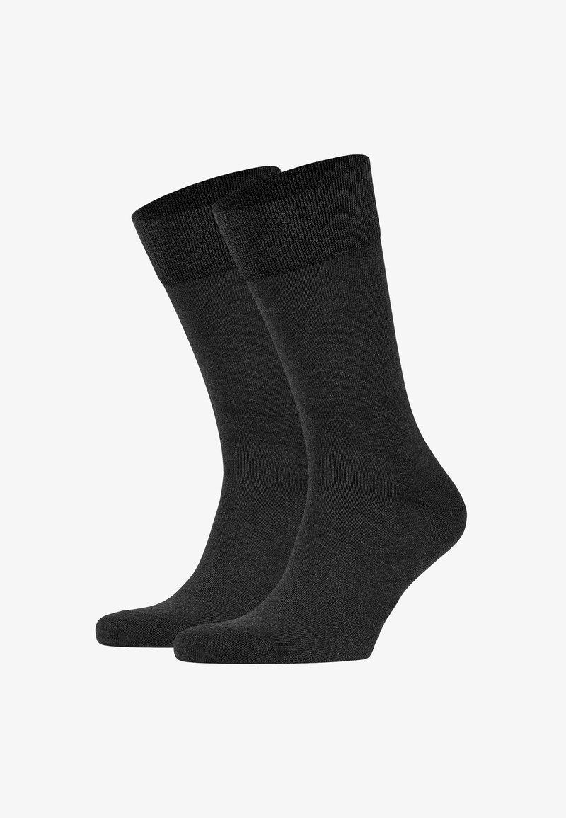 FALKE - HAPPY 2-PACK - Socks - grey