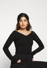 Even&Odd Petite - Pullover - black - 0