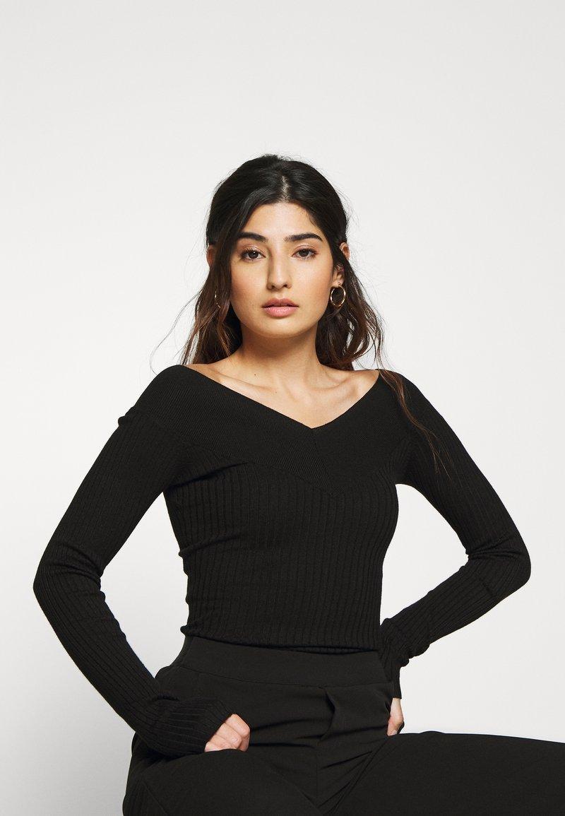 Even&Odd Petite - Pullover - black
