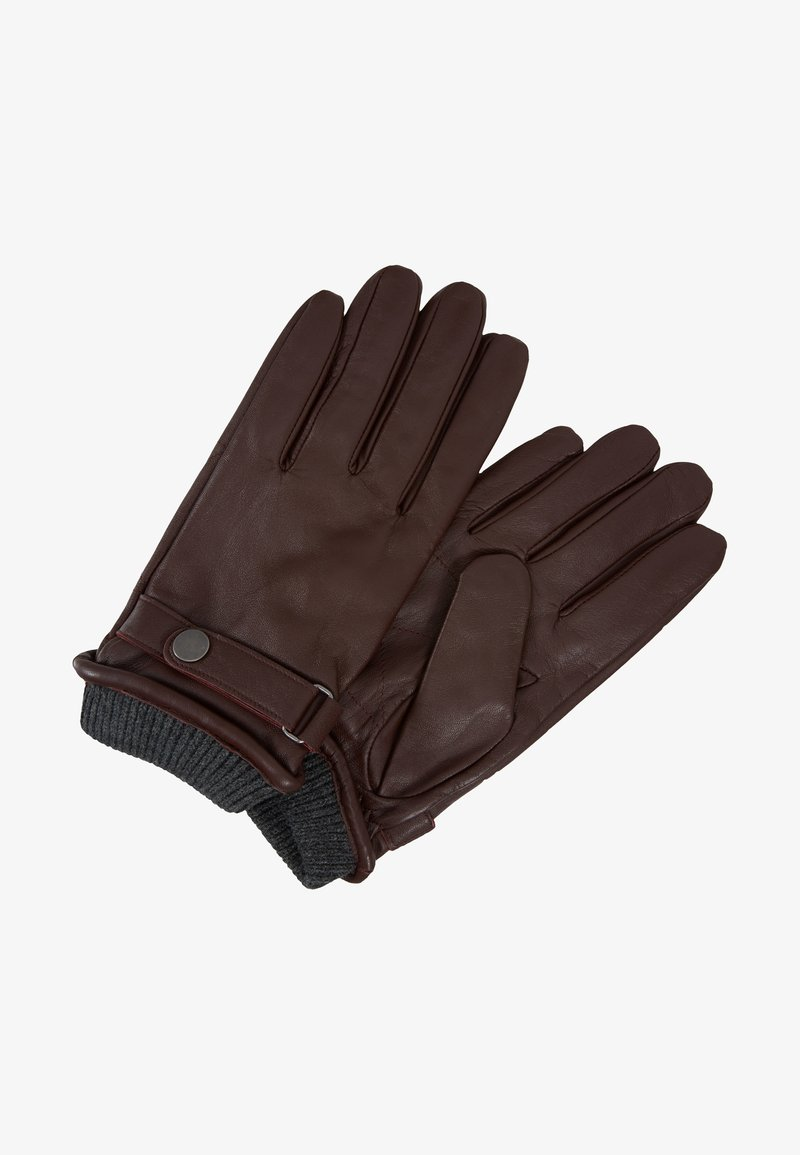 Pier One - TOUCH SCREEN - Gloves - dark brown