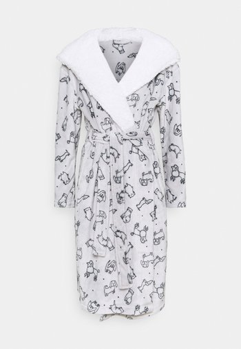 LIGHT NOVELTY CATS AND DOGS ROBE