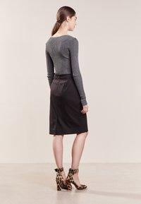 J.CREW - SKIRT BISTRETCH - Pouzdrová sukně - black - 2