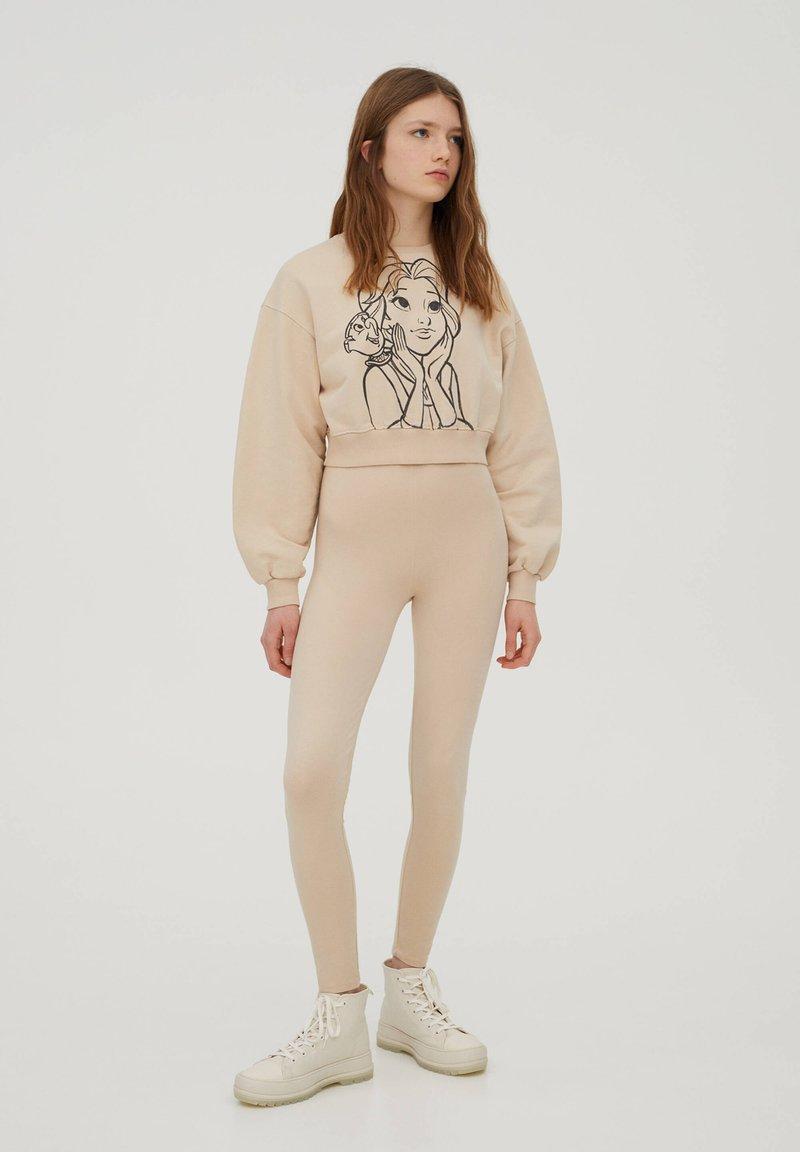PULL&BEAR - DISNEY - Sweatshirt - beige