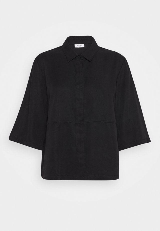BLOUSE - Overhemdblouse - black