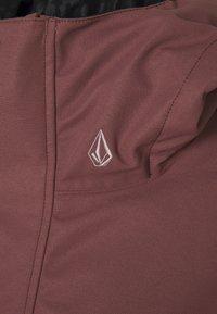 Volcom - BOLT INS JACKET - Snowboardová bunda - faded pink - 2