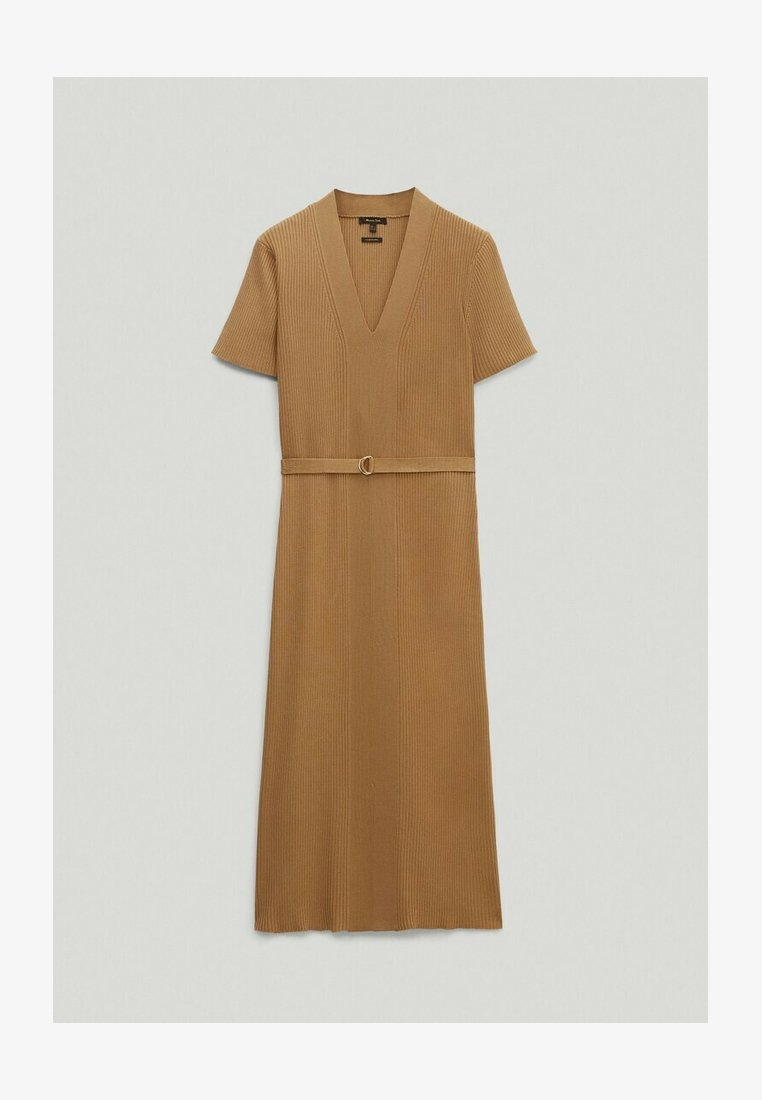 Massimo Dutti - Jumper dress - brown
