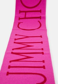 Jimmy Choo - SCARF CLASSIC LOGO - Scarf - pink/red - 2