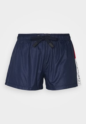 ALIANA SHORTS - Krótkie spodenki sportowe - black iris/true red/bright white