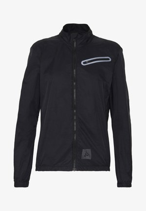HALE JACKET - Větrovka - black