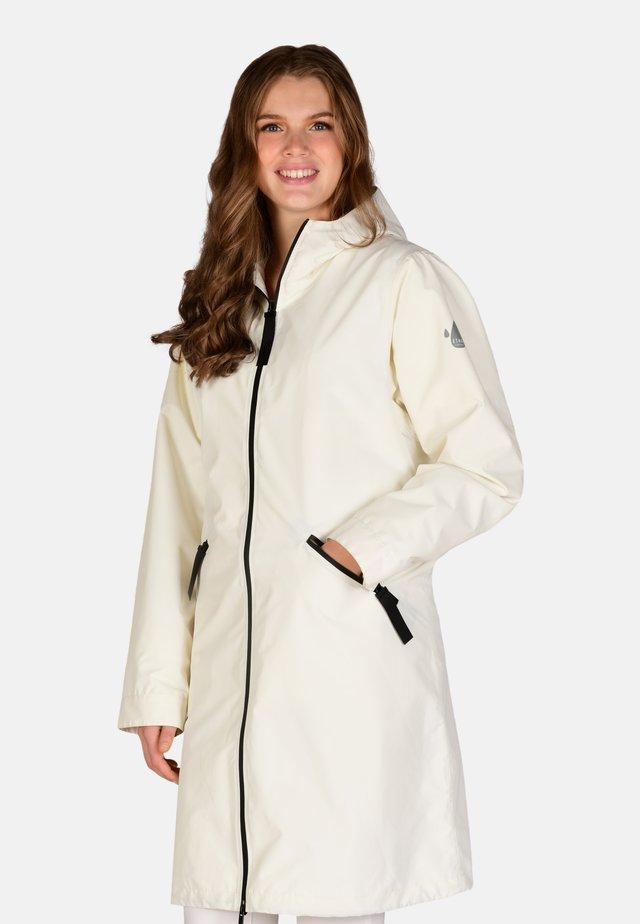 Waterproof jacket - off white