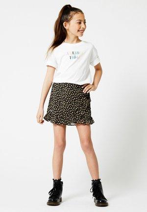 A-line skirt - flower