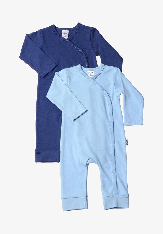 2PACK - Jumpsuit - light blue / dark blue