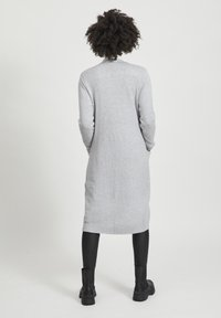 Vila - VIRIL LONG CARDIGAN - Kardigan - light grey melange - 2
