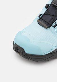 Salomon - X ULTRA 4 GTX - Hiking shoes - crystal blue/black/cumin - 5