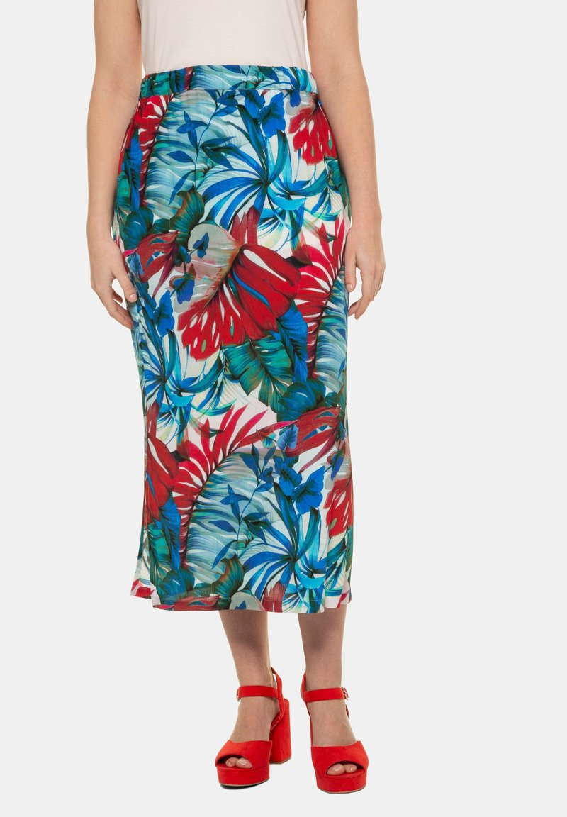 Ulla Popken - Pencil skirt - multicolor