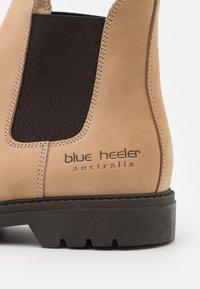 Blue Heeler - HAMILTON UNISEX - Classic ankle boots - beach sand/brown - 5