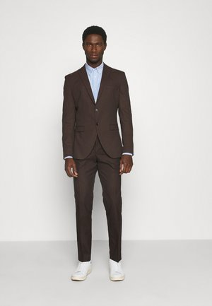 SLHSLIM MYLOLOGAN SUIT - Suit - coffee bean