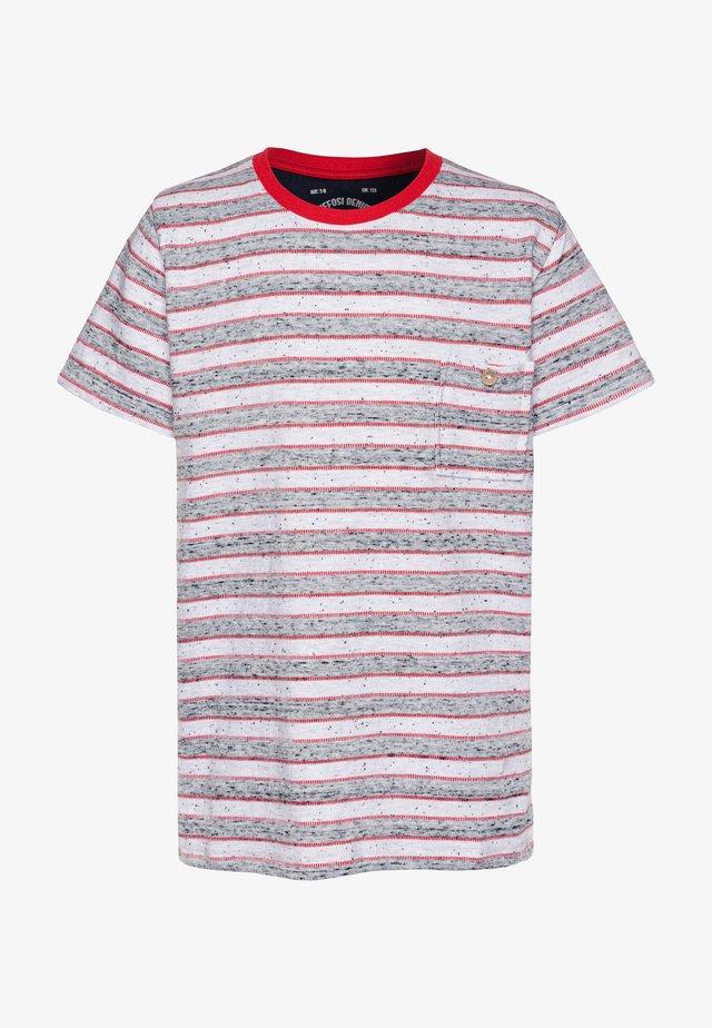 DIONISIO - Print T-shirt - white