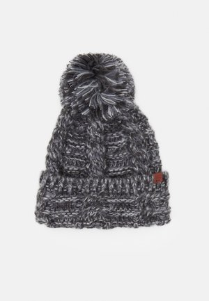 BEANIE - Muts - dark grey twist