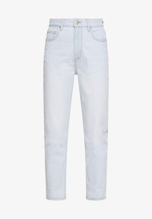 STRETCH MOM - Relaxed fit jeans - blurstone light blue rips