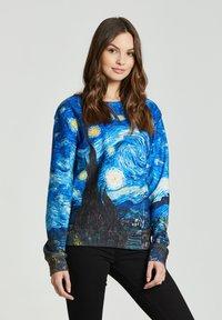 Mr. GUGU & Miss GO - THE STARRY NIGHT - Sweatshirt - blue - 3