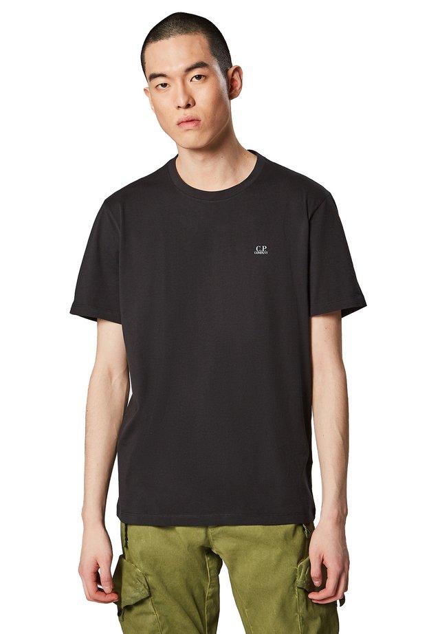 Print T-shirt - 999 - black