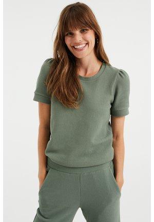 MET STRUCTUUR - T-shirt basique - light green