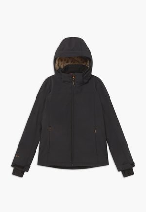 ARIESTA  GIRLS - Soft shell jacket - black