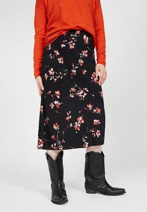 BATIK - A-line skirt - black