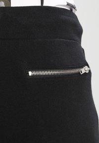 Pier One - BIKER JOGGER - Teplákové kalhoty - black - 3