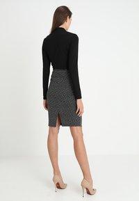 Anna Field - Shift dress - offwhite/black - 2
