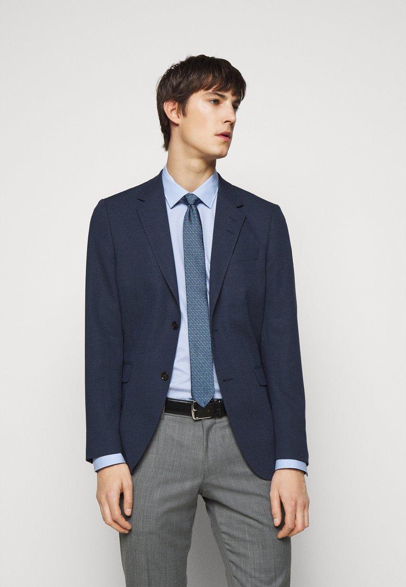 HUGO - TIE - Tie - dark blue